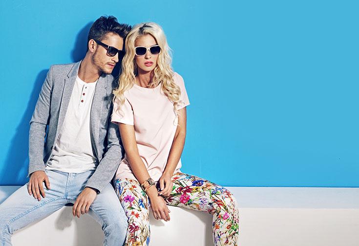 People wearing sunglasses 2