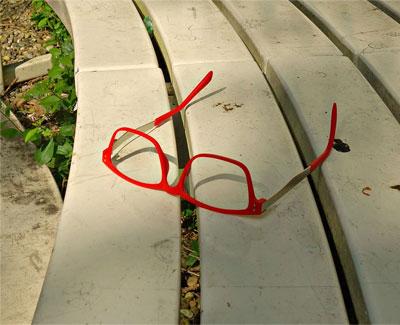 Red Glasses Frame